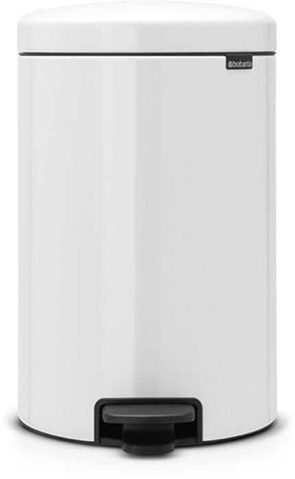 Мусорный бак с педалью Brabantia NewIcon, 20 л. 111846111846Этот 20-литровый бак с педалью – отличное решение для кухни или гостиной: большое загрузочное отверстие позволяет аккуратно собирать мусор, не просыпая на пол. Бесшумный – плавное закрывание крышки и необыкновенно мягкий ход педали. Не пропускает запах – плотно прилегающая крышка. Устойчивый – специальное устройство, предотвращающее опрокидывание бака. Не повреждает пол – нескользящее основание. Удобная очистка –съемное внутреннее пластиковое ведро. Бак удобно перемещать – специальная ручка в блоке крепления крышки. Всегда опрятный вид – в комплекте идеально подходящие по размеру мешки для мусора PerfectFit (размер D). Сертификат соответствия концепции регенерации Cradle to Cradle. Изготовлен на 40% из переработанных материалов, подлежит вторичной переработке вместе с упаковкойна 98%. 10 лет гарантии. Brabantia c заботой о вашем доме и планете. Добрые дела сегодня – залог счастливого завтра. Мусорные баки с педалью newIcon не только...