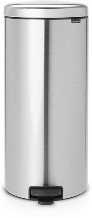 Мусорный бак с педалью Brabantia NewIcon, 30 л. 111822111822Этот высокий вместительный бак с педалью на 30 литров – превосходное решение для большой семьи. Бесшумный – плавное закрывание крышки и необыкновенно мягкий ход педали. Не пропускает запах – плотно прилегающая крышка. Устойчивый – специальное устройство, предотвращающее опрокидывание бака. Не повреждает пол – нескользящее основание. Удобная очистка –съемное внутреннее пластиковое ведро. Бак удобно перемещать – специальная ручка в блоке крепления крышки. Всегда опрятный вид – в комплекте идеально подходящие по размеру мешки для мусора PerfectFit (размер D). Сертификат соответствия концепции регенерации Cradle to Cradle. Изготовлен на 40% из переработанных материалов, подлежит вторичной переработке вместе с упаковкойна 98%. 10 лет гарантии и сервисное обслуживание. Brabantia c заботой о вашем доме и планете. Добрые дела сегодня – залог счастливого завтра. Мусорные баки с педалью newIcon не только безупречно красивы, они еще и надежные...