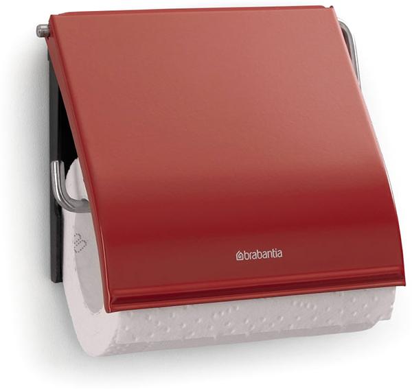 Держатель для туалетной бумаги Brabantia. 107863UP210DFДержатель для туалетной бумаги изготовлен из высококачественной листовой стали со стойким антикоррозийным покрытием или хромированной стали, поэтому он идеально подходит для использования в ванной и туалете.Держатель просто монтировать и легко менять рулон.Фурнитура для монтажа входит в комплект.Пластина крепления - пластиковая.Легко сменить рулон. Рулон можно вставить справа или слева.Сочетается с другими аксессуарами Brabantia для ванной комнаты такого же цвета: с туалетным ершиком, баком для белья, настенным мусорным ведром и мусорным ведром с ножной педалью. Гарантия 10 лет.