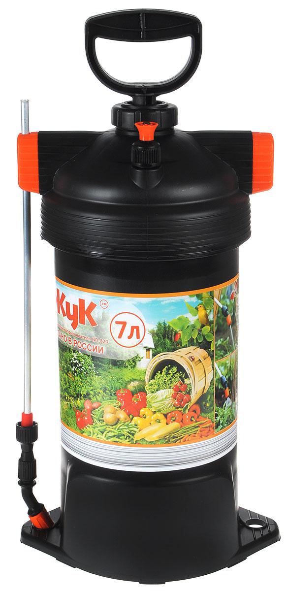 Опрыскиватель ЖУК ОП-220, 7 л21359Удобный литраж бака ОП -220 делает его идеальным для использования на небольших садовых участках для обработки овощных культур и кустарников. Дизайн бака со сьемной крышкой обеспечивает удобный залив жидкости, а мерная шкала внутри позволяет определить требуемый объем.