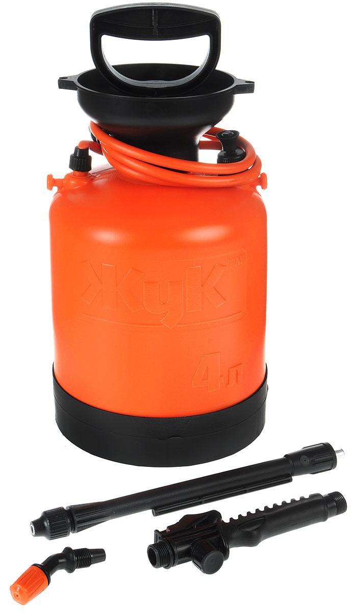 Опрыскиватель ЖУК ОП-209, 4 л96515412Опрыскиватель ЖУК ОП-209 применяется для химической защиты растений от вредителей и болезней, а также для уничтожения сорняков. Возможно использование опрыскивателя для обработки поверхностей с использованием моющих средств, чистки стен, стекло и других работ. Цельная горловина создает дополнительную герметичность бака, что гарантирует безопасность эксплуатации и предотвращает возможность вытекания жидкости во время работы. Широкий плечевой ремень, входящий в комплектацию, снимает напряжение с мышц спины во время эксплуатации. Поддон, предусмотренный конструкцией бака, обеспечивает дополнительную устойчивость и удобство использования. Данная модель идеальна для ухода за растениями на небольших садовых участках.Объем бака: 4 л.Объем заливаемой жидкости: 3 л.Длина брандспойта: 60-92 см.Рабочее давление: 0,23 Мпа.Расход рабочей жидкости: 0,6-0,8 л/мин.Диапазон регулировки факела распыла: от 0° до 90°.Давление срабатывания предохранительного клапана: не более 0,3 Мпа.