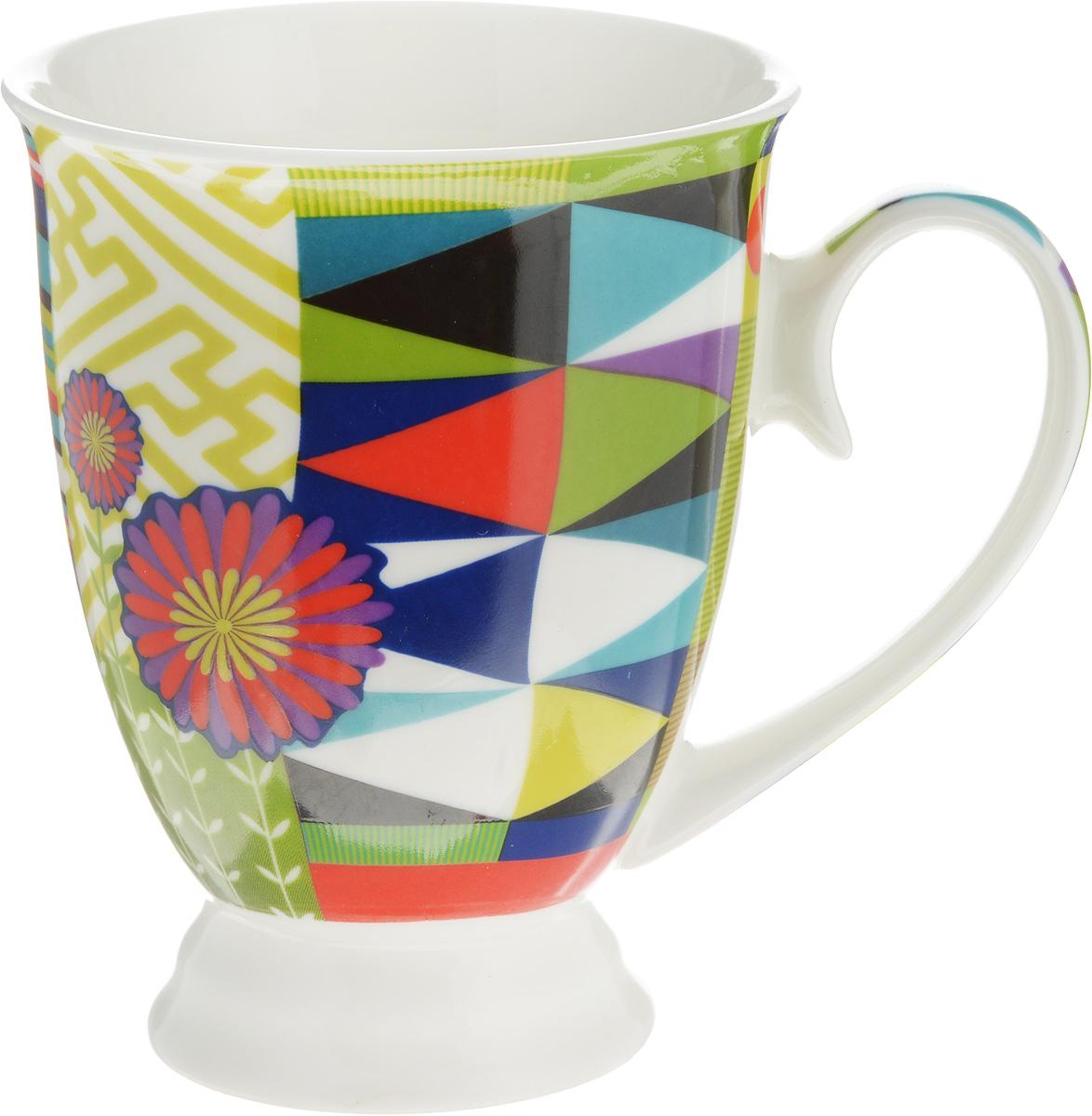 Кружка Lillo Цветочно-ягодный микс, цвет: бирюзовый, зеленый, красный, 250 мл12486_бирюзовый, зеленый, красныйКружка Lillo Цветочно-ягодный микс выполнена из высококачественной керамики с глазурованным покрытием. С внешней стороны изделие декорировано красочным рисунком. Такая кружка станет приятным подарком и согреет вас холодными вечерами. Диаметр (по верхнему краю): 8 см. Высота кружки: 10,5 см.