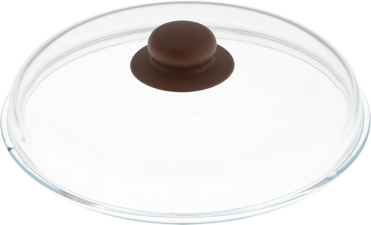 Крышка NaturePan, высокая, цвет: прозрачный, коричневый. Диаметр 24 смCM000001326Крышка NaturePan изготовлена из термостойкого и экологически чистого стекла с пластиковой ручкой. Изделие имеет высокую конструкцию, оно удобно в использовании и позволяет контролировать процесс приготовления пищи.Можно мыть в посудомоечной машине. Диаметр крышки: 24 см.Диаметр ручки: 4,5 см.Высота ручки: 2,5 см.Высота крышки (с учетом ручки): 8 см.