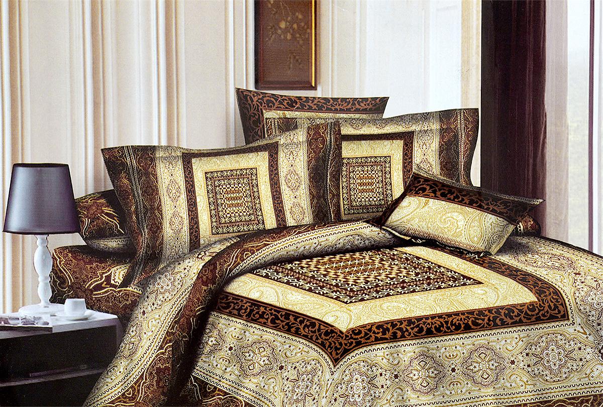 Комплект белья МарТекс Латте, 1,5-спальный, наволочки 70х70, цвет: белый, бежевый, коричневыйS03301004Комплект постельного белья МарТекс Латте состоит из пододеяльника, простыни и двух наволочек и изготовлен из качественного сатина. Постельное белье оформлено оригинальным ярким рисунком и имеет изысканный внешний вид. Сатин - вид ткани, произведенный из натурального хлопка. Материал имеет все свойства хлопка: не аллергенен, прочен, почти не мнется и хорошо гладится. Благодаря натуральному хлопку, постельное белье приобретает способность пропускать воздух, давая возможность телу дышать. Приобретая комплект постельного белья МарТекс, вы можете быть уверенны в том, что покупка доставит вам и вашим близким удовольствие и подарит максимальный комфорт.