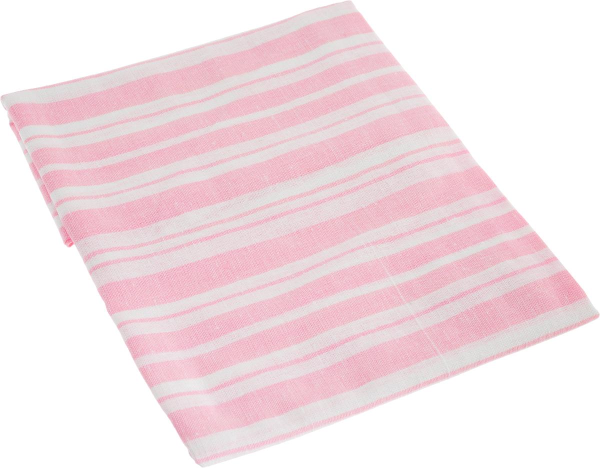 Наволочка Гаврилов-Ямский Лен, цвет: розовый, белый, 60 x 60 см10503Наволочка Гаврилов-Ямский Лен выполнена из качественного сочетания хлопка (70%) и льна (30%). Высочайшее качество материала гарантирует безопасность. Лен - поистине уникальный, экологически чистый материал. Изделия изо льна обладают уникальными потребительскими свойствами. Лен дает вам ощущение прохлады в жаркую ночь и согреет в холода.Хлопок представляет собой натуральное волокно, которое получают из созревших плодов такого растения как хлопчатник. Качество хлопка зависит от длины волокна - чем длиннее волокно, тем ткань лучше и качественней. Наволочка с принтом в полоску гармонично впишется в интерьер вашего дома и создаст атмосферу уюта и комфорта.