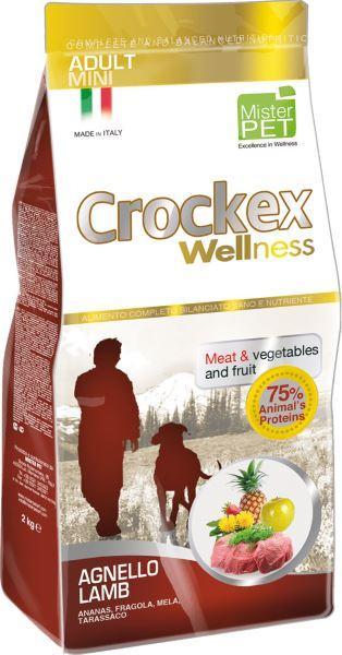 Корм сухой Crockex Wellness для собак мелких пород, ягненок с рисом, 7,5 кг0120710Этот полноценный рацион, дополненный функциональными ингредиентами, поддержит здоровье собаки. Сердцевина ананаса и яблоко способствуют правильному функционированию пищеварительной системы, а клубника является натуральным антиоксидантом с антивозрастным эффектом и служит для борьбы со свободными радикалами. Одуванчик известен своими очищающими свойствами и оказывает благотворное воздействие на печень. Пребиотики FOS и MOS помогают модулировать кишечную флору, улучшая таким образом усвоение питательных веществ. Использование риса в качестве первого источника углеводов и свежего мяса ягненка (15%) обеспечивает высокую перевариваемость и отличную аппетитность рациона.Состав: обезвоженное мясо цыпленка (19%), рис (18%), кукуруза, свежее мясо ягненка (15%), кукурузная мука, цыплячий жир, очищенный от оболочки зеленый горошек, льняное семя (2%), высушенная мякоть свеклы, пивные дрожжи, обезвоженные морские водоросли (0,24%), хлорид натрия, экстракт дрожжей (MOS 0,16%), фруктоолигосахариды (FOS 0,1%), экстракт юкки (0,0265%), порошок из корней одуванчика (Taraxacum officinale W.) (0,02%), обезвоженное яблоко (Malus pumila) (0,02%), обезвоженная сердцевина ананаса (Ananas sativus L.) (0,02%), обезвоженная клубника (Fragaria x ananassa) (0,0006%).Добавки на 1 кг продукта - Пищевые добавки: Витамин A 17500 МЕ, Витамин D3 1200 МЕ, Витамин E 145 мг, E4 Сульфат меди пентагидрат47 мг, E1 Карбонат железа 76 мг, E5 Оксидмарганца 92 мг, E6 Сульфат цинка моногидрат 192мг, E2 Йодистый калий 4,6 мг, E8 Селенит натрия15,2 мг.Аналитический состав: Влага 8%, сырой протеин26%, сырые масла и жиры 16%, сырая зола 6,3%,сырые волокна 2,1%, кальций 1,25%, фосфор 0,9%