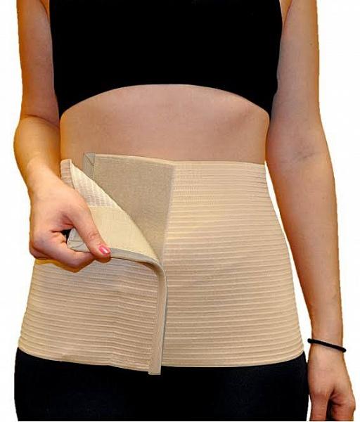 Almed Пояс эластичный медицинский послеоперационнный №3ПЭМП 3/LПояс предназначен для поддержания мышц брюшного пресса после операций, при грыжах, опущениях почек, а также- женщинам после родов. МЕДИЦИНСКИЕ ПОКАЗАНИЯ При лечении заболеваний: травмы и повреждения мышц брюшного пресса, грыжи белой линии живота, грыжи послеоперационные, опущение органов брюшной полости и почек, атония мышц брюшной полости. В до и после операционный периоды: для сокращения сроков реабилитации после полостных и иных операций, в послeродовый период. В профилактических целях: подчеркивает достоинства фигуры, препятствует образованию послеоперационных грыж. Надевать изделие рекомендуется в положении лежа на спине на ровной жесткой или полужесткой поверхности, непосредственно на тело или хлопчатобумажное белье. Пояс должен плотно прилегать к телу, в таком положении его необходимо зафиксировать при помощи застежки velcro. Благодаря застежке возможна самостоятельная регулировка изделия с учетом особенностей фигуры. При использовании пояс вызывает...