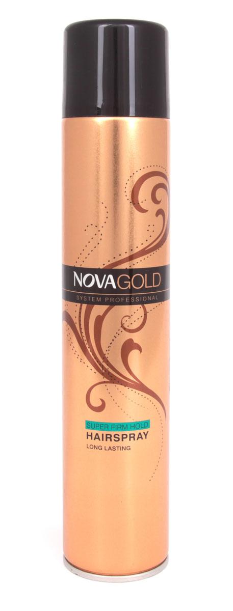 Лак суперфиксации Nova GOLD 400 мл (зеленый)FS-00897Лак предназначен для суперсильной фиксации без ощущения склеенности и липкости.Результат-эффект натуральности и надежнозакрепленная прическа.Входящие в состав протеины шёлка ухаживают за волосами,а UV фильтры защищают от неблагоприятного воздействия окружающей среды. Средство идеально подходит для укладки волос,поврежденных или ослабленных из-за постоянного воздействия высоких температур. Лак обладает приятным,легким ароматом,быстро сохнет и легко смывается,при этом не повреждая волосы.