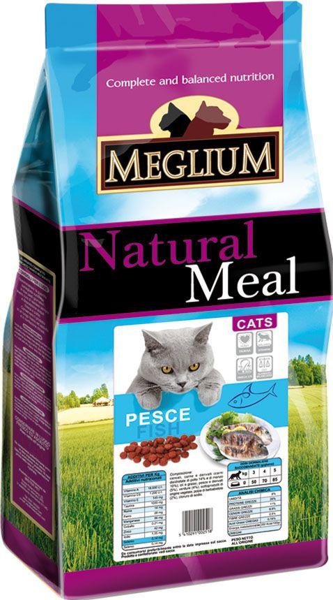 Корм сухой Meglium для кошек, рыба, 3 кг0120710Сбалансированный корм с оптимальным соотношением белков и углеводов специально разработан для кошек с чувствительным пищеварением. Содержит жизненноважные витамины и минералы.