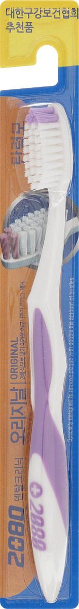 DC 2080 Зубная щетка Оригинал, средняя жесткость, цвет: сиреневыйSC-FM20101DC 2080 Зубная щетка Оригинал, средняя жесткость, цвет: сиреневый