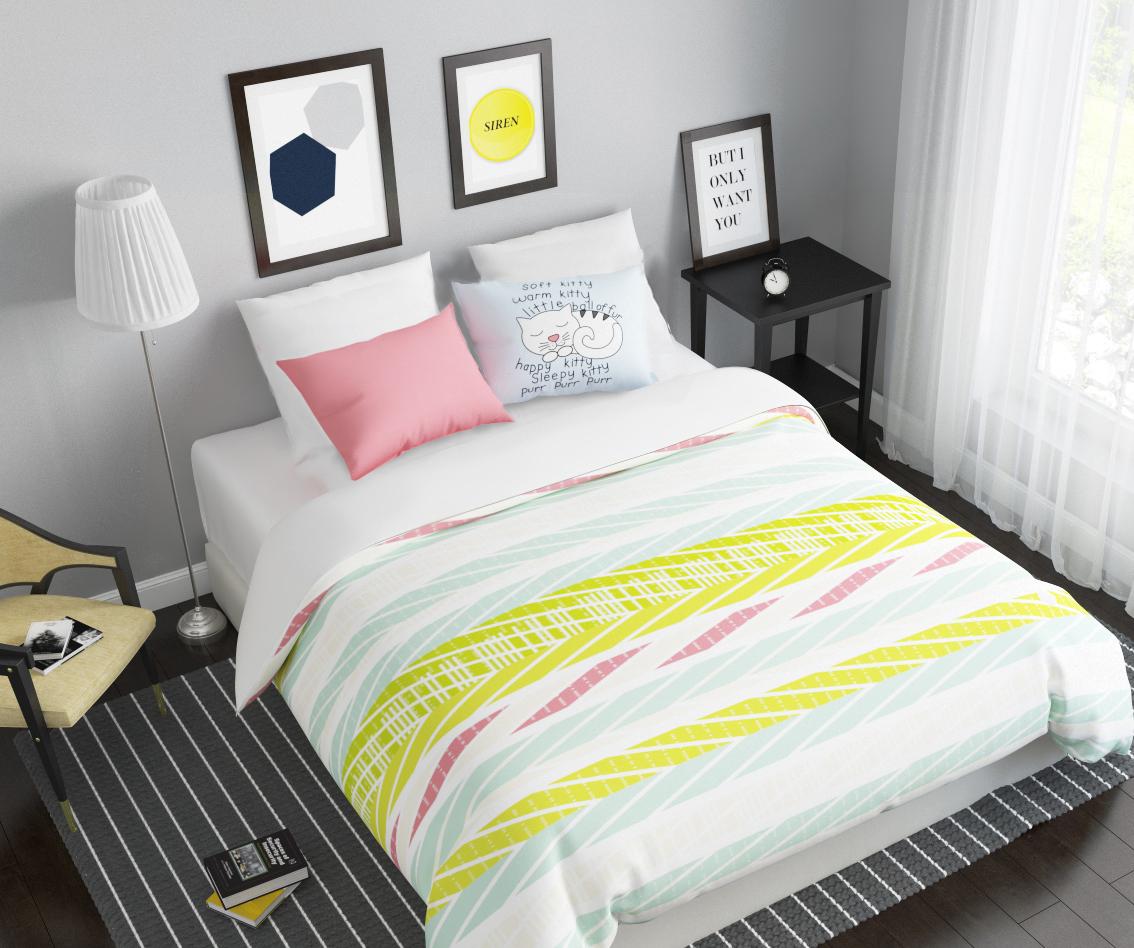 Комплект белья Сирень Сладкий сон, 1,5-спальный, наволочки 50x7007868-КПБ-МКомплект постельного белья Сирень выполнен из прочной и мягкой ткани. Четкий и стильный рисунок в сочетании с насыщенными красками делают комплект постельного белья неповторимой изюминкой любого интерьера. Постельное белье идеально подойдет для подарка. Идеальное соотношение смешенной ткани и гипоаллергенных красок это гарантия здорового, спокойного сна. Ткань хорошо впитывает влагу, надолго сохраняет яркость красок. Цвет простыни, пододеяльника, наволочки в комплектации может немного отличаться от представленного на фото. В комплект входят: простынь - 150х220см; пододельяник 145х210 см; наволочка - 50х70х2шт. Постельное белье легко стирать при 30-40 градусах, гладить при 150 градусах, не отбеливать.Рекомендуется перед первым изпользованием постирать.