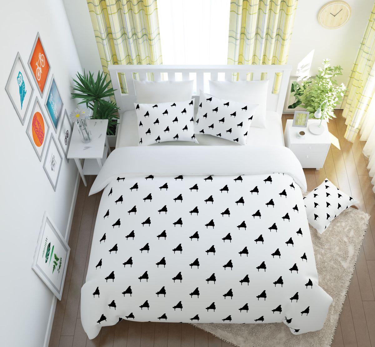 Комплект белья Сирень Рояль, 1,5-спальный, наволочки 50x70S03301004Комплект постельного белья Сирень состоит из простыни, пододеяльника и 2 наволочек. Комплект выполнен из современных гипоаллергенных материалов. Приятный при прикосновении сатин - гарантия здорового, спокойного сна. Ткань хорошо впитывает влагу, надолго сохраняет яркость красок. Четкий, изящный рисунок в сочетании с насыщенными красками делает комплект постельного белья неповторимой изюминкой любого интерьера. Постельное белье идеально подойдет для подарка.