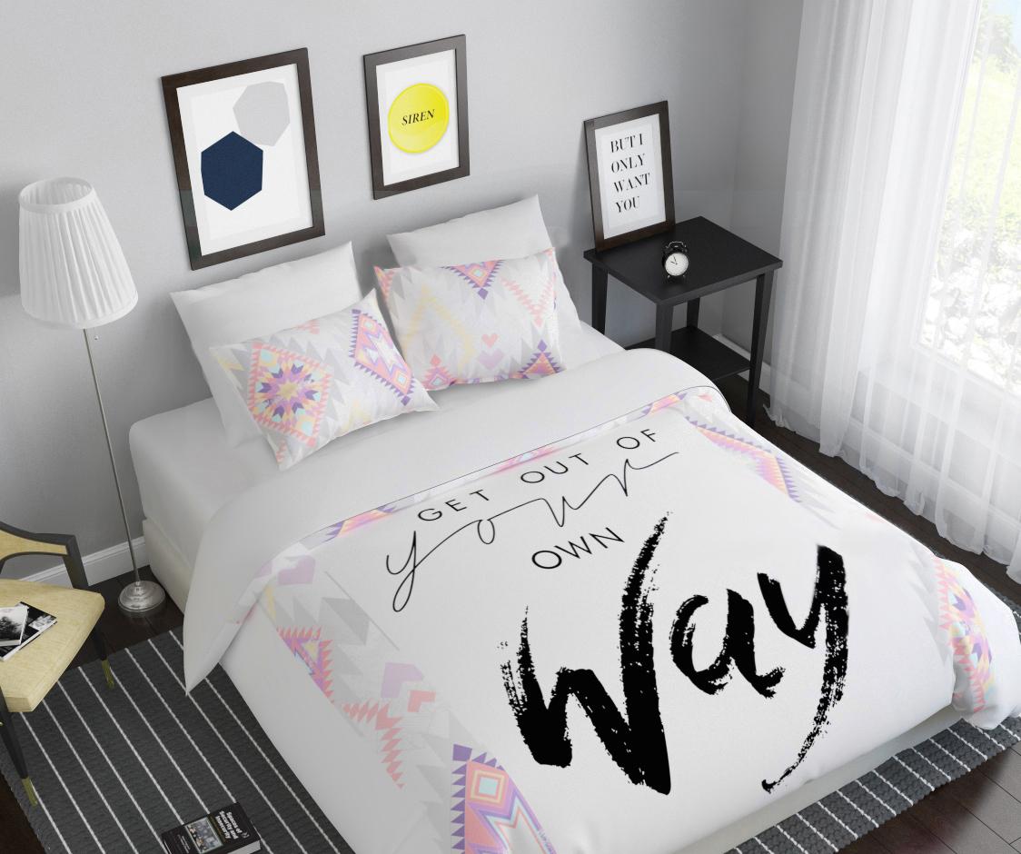 Комплект белья Сирень Твой путь, 1,5-спальный, наволочки 50x7008240-КПБ-МКомплект постельного белья Сирень выполнен из прочной и мягкой ткани. Четкий и стильный рисунок в сочетании с насыщенными красками делают комплект постельного белья неповторимой изюминкой любого интерьера. Постельное белье идеально подойдет для подарка. Идеальное соотношение смешенной ткани и гипоаллергенных красок это гарантия здорового, спокойного сна. Ткань хорошо впитывает влагу, надолго сохраняет яркость красок. Цвет простыни, пододеяльника, наволочки в комплектации может немного отличаться от представленного на фото. В комплект входят: простынь - 150х220см; пододельяник 145х210 см; наволочка - 50х70х2шт. Постельное белье легко стирать при 30-40 градусах, гладить при 150 градусах, не отбеливать.Рекомендуется перед первым изпользованием постирать.