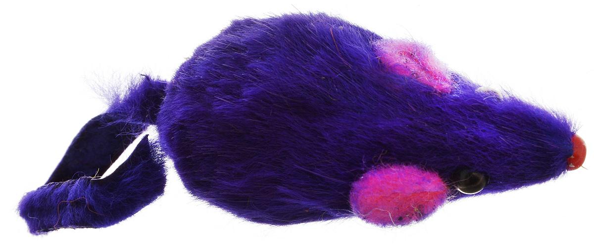 Игрушка для кошек Каскад Мышь, с коротким мехом, цвет: фиолетовый, длина 10,5 см0120710Игрушка для кошек Каскад Мышь изготовлена из искусственного меха и пластика.Такая игрушка порадует вашего любимца, а вам доставит массу приятных эмоций, ведь наблюдать за игрой всегда интересно и приятно.Общая длина игрушки: 10,5 см.