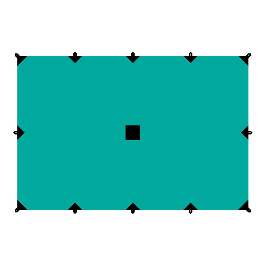Тент Tramp, цвет: зеленый, 4 х 6 мa026124Универсальный тент Tramp предназначен для защиты от дождя и солнца. Использование высококачественного полиэстера делает тент прочным, легким и не впитывающим влагу. Тент имеет пропитку, защищающую от ультрафиолетового излучения. По периметру вшиты петли для фиксации тента на оттяжках. Углы тента усилены вставками из прочной ткани. Светоотражающие оттяжки с регуляторами длины и стальные колышки в комплекте. Тент упаковывается в чехол для транспортировки и хранения. Размер тента: 4 х 6 м.