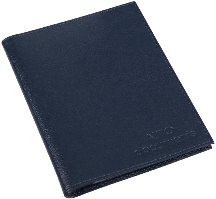 Бумажник водителя мужской Befler Грейд, цвет: темно-синий. BV.1.-9BV.1.-9.синийБумажник водителя Befler выполнен из натуральной кожи. На внутреннем развороте расположено 2 кармана из прозрачного пластика. Внутренний блок из прозрачного пластика для документов водителя состоит из 6 файлов.
