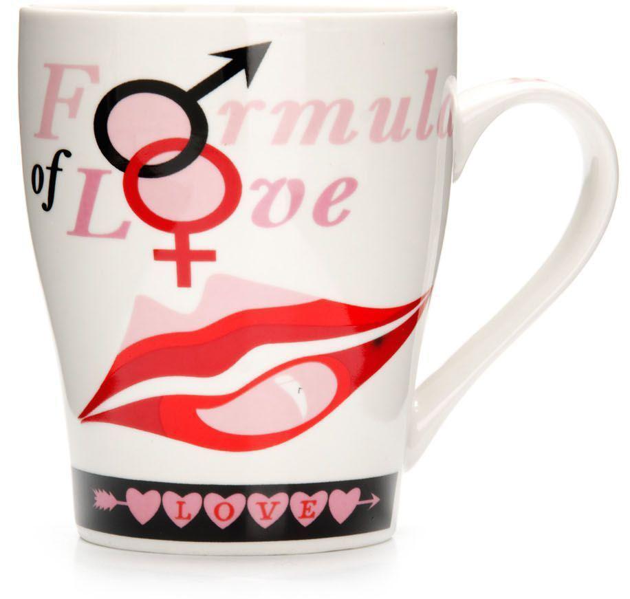 Кружка Loraine Любовь, 340 мл, подарочная упаковка. 26577-326577-3Кружка Loraine, выполненная из костяного фарфора и украшенная ярким рисунком, станет красивым и полезным подарком для ваших родных и близких. Дизайн изделия придется по вкусу и ценителям классики, и тем, кто предпочитает утонченность и изысканность. Кружка Loraine настроит на позитивный лад и подарит хорошее настроение с самого утра. Изделие пригодно для использования в микроволновой печи и холодильника. Подходит для мытья в посудомоечной машине.