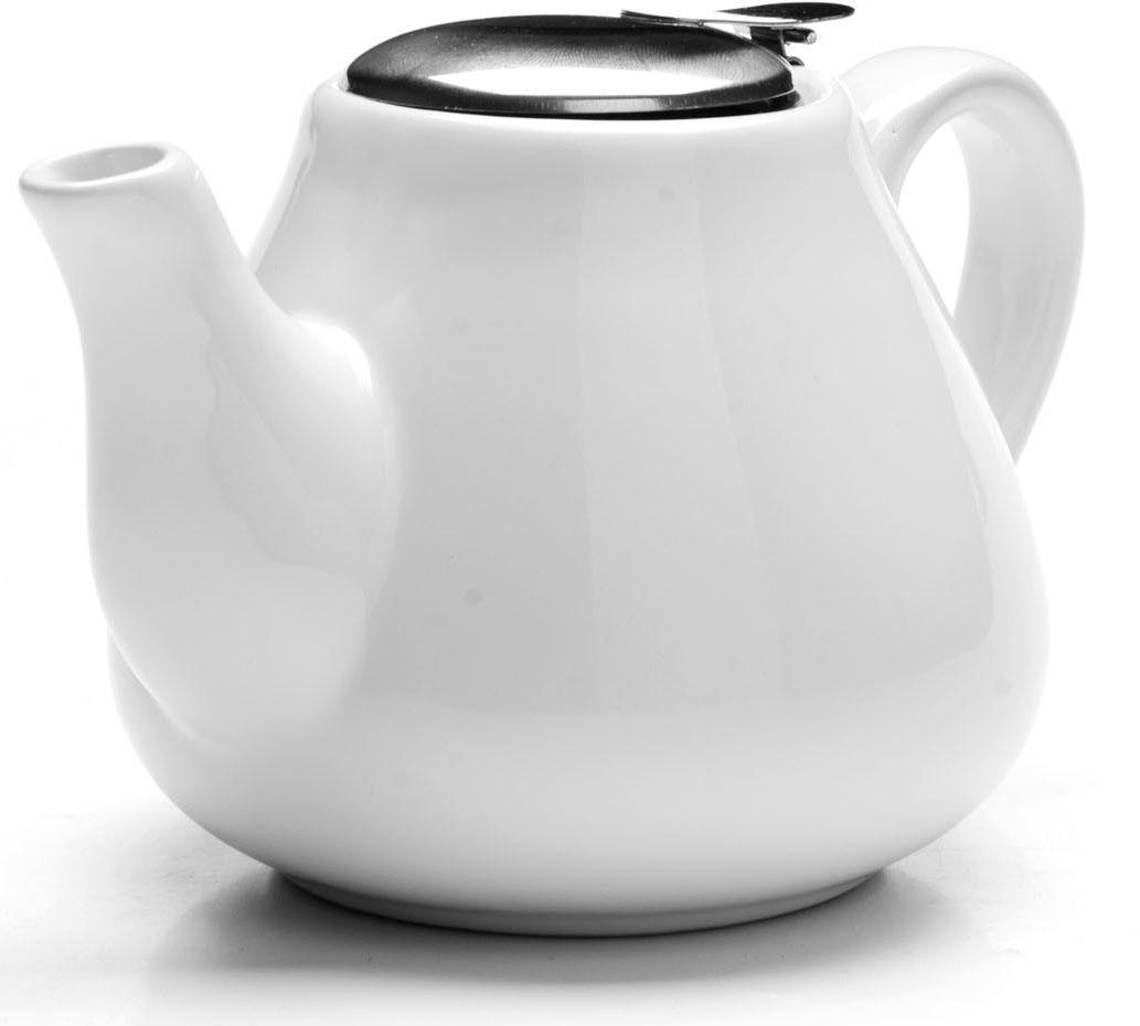 Заварочный чайник Loraine, цвет: белый, 600 мл. 26595-126595-1Заварочный чайник выполнен из высококачественной цветной керамики. Фильтр, из нержавеющей стали, для заваривания раскроет букет чая и не позволит чаинкам попасть в чашку. Удобная металлическая крышка поддержит нужную температуру для заваривания чая. Керамический чайник прост и удобен в применении, чайник легко мыть. Не ставьте чайник на открытый огонь и нагревающиеся поверхности. Подходит для мытья в посудомоечной машине.
