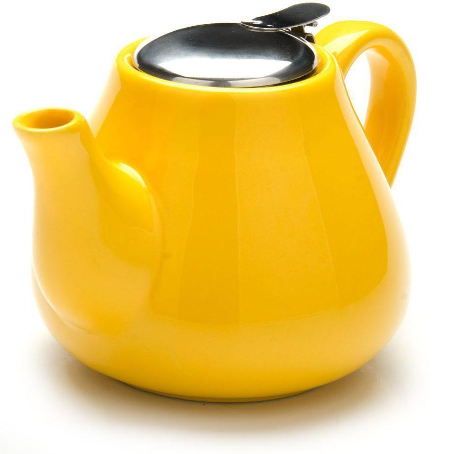 Заварочный чайник Loraine, цвет: желтый, 600 мл. 26595-226595-2Заварочный чайник выполнен из высококачественной цветной керамики. Фильтр, из нержавеющей стали, для заваривания раскроет букет чая и не позволит чаинкам попасть в чашку. Удобная металлическая крышка поддержит нужную температуру для заваривания чая. Керамический чайник прост и удобен в применении, чайник легко мыть. Не ставьте чайник на открытый огонь и нагревающиеся поверхности. Подходит для мытья в посудомоечной машине.