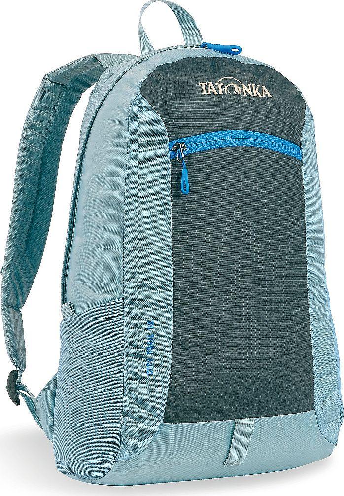 Рюкзак городской Tatonka City Trail, цвет: голубой, 16 л29515/10City Trail 16 - аккуратный и удобный рюкзак для города, оснащен боковыми сетчатыми карманами и центральным карманом на молнии, держателем для ключей.