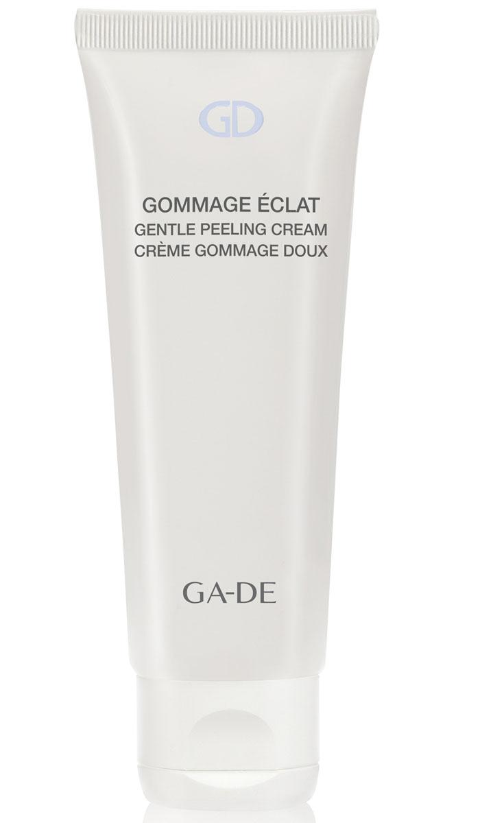 GA-DE Пилинг-маска для лица Gommage Eclat, 75 мл133100000Мягкий крем-пилинг для жирной и комбинированной кожи. Специально разработан для мягкого очищения кожи от поверхностных загрязнений, ороговевшего слоя клеток и улучшения текстуры кожи. Облегчает клеточное дыхание, нормализует выработку подкожного жира. Основан на натуральной белой глине в сочетании с успокаивающими, увлажняющими и защищающими растительными экстрактами. Комплекс витаминов и антиоксидантов активизирует регенерацию клеток, делает кожу мягкой, чистой и свежей.