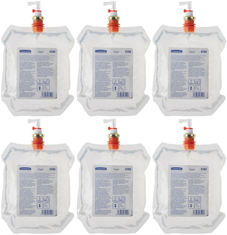 """Освежитель воздуха Kimberly-Clark """"Professional"""" Fresh, 6 сменных блоков по 300 мл. 6184"""