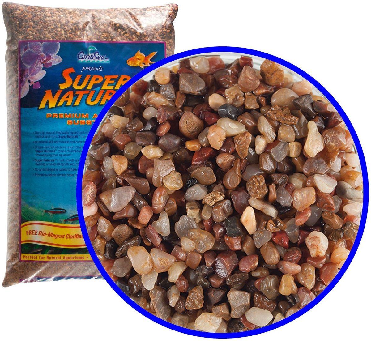 Аквагрунт пресноводный Caribsea Rio Grande, цвет: мульти, 3-5 мм, 9 кг0120710Аквариумный грунт премиум-класса с гладкими гранулами, безопасными для рыб и не препятствующими сбору отходов. Имеет нетральный уровень pH, не увеличивает карбонатную жесткость. Смесь цвета ассорти. Размер 3-5 мм.