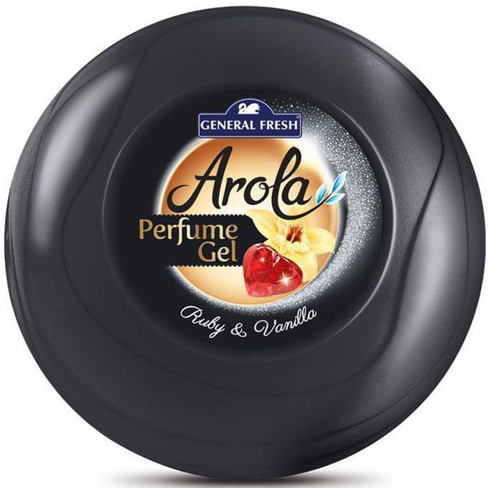 Освежитель воздуха General Fresh Perfume Gel. Рубин и ваниль, гелевый, парфюмированный, 1 шт. 596202596202Освежитель воздуха парфюмированный в геле PERFUME GEL, с длительным и приятным запахом орхидеи предназначен для использования в любых помещениях вашего дома или офиса. Благодаря приятному аромату, создает атмосферу комфорта и уюта. Эффективно устраняет неприятные запахи и освежает воздух. Специальные компоненты, входящие в состав освежителей, обеспечивают продолжительное действие приятного аромата.