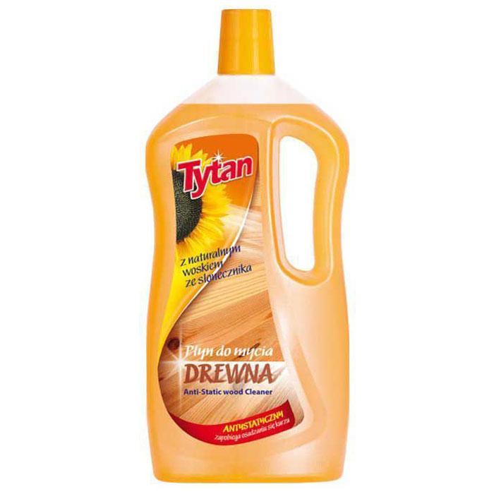 Жидкость Tytan, для мытья деревянных поверхностей, 1 л714010Формула жидкости была разработана таким образом, чтобы оберегать очищаемые поверхности при каждом использовании. Жидкость обогащена антистатическим веществом, предотвращающим оседание пыли на убираемых поверхностях. Придает поверхностям нежный блеск - не оставляет разводов. Оставляет свежий и приятный запах.