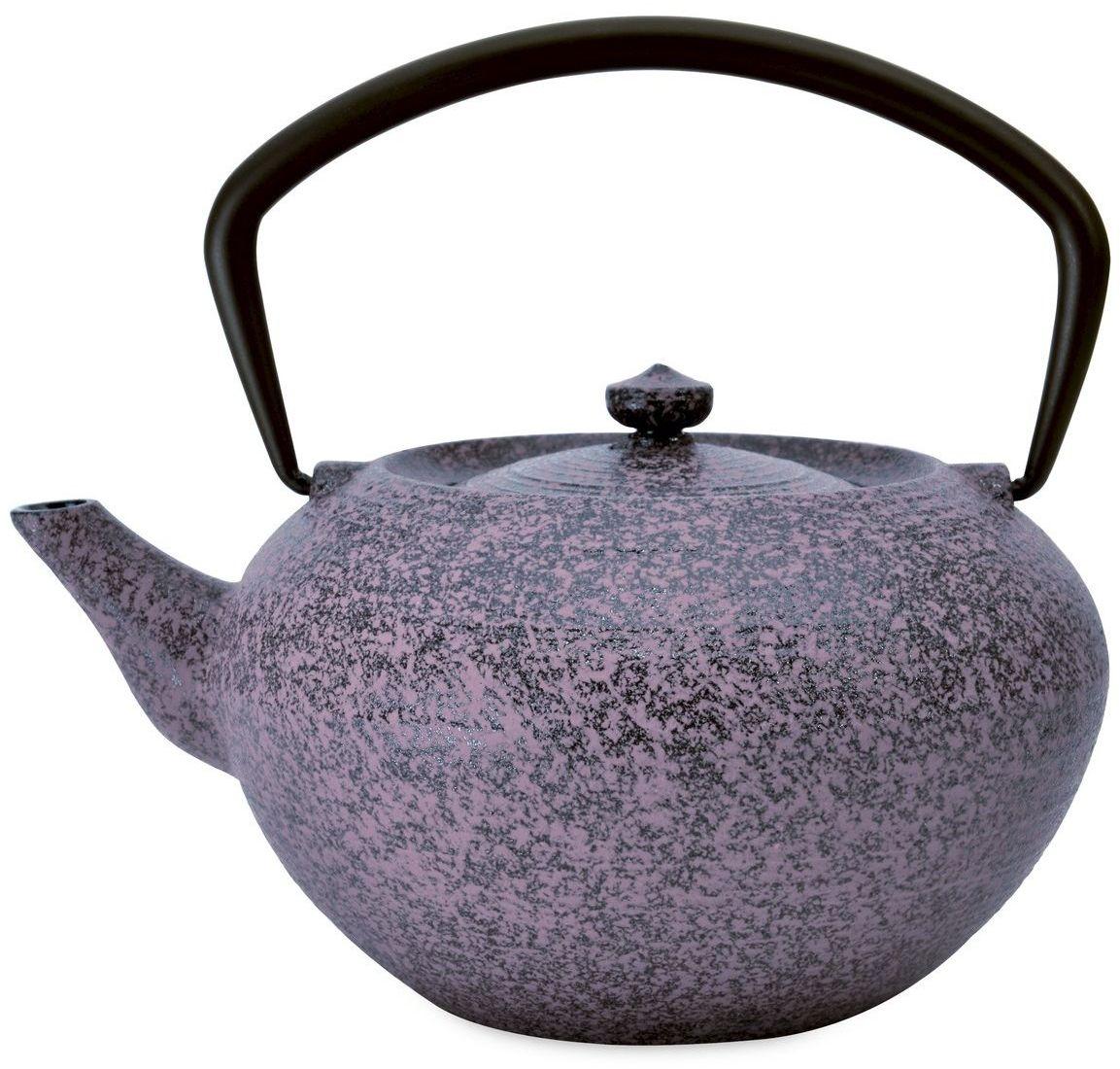 Чайник заварочный BergHOFF Studio, чугунный, цвет: фиолетовый, 1,3 л1107049