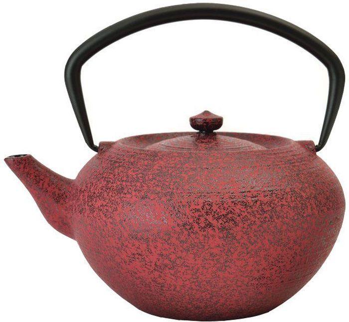 Чайник заварочный BergHOFF Studio, чугунный, цвет: красный, 1,3 л1107050