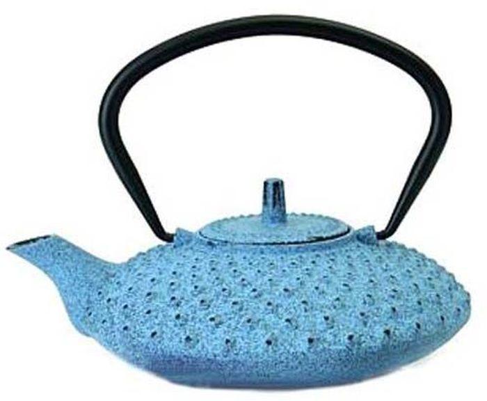 Чайник заварочный BergHOFF Studio, чугунный, цвет: голубой, 800 мл1107052