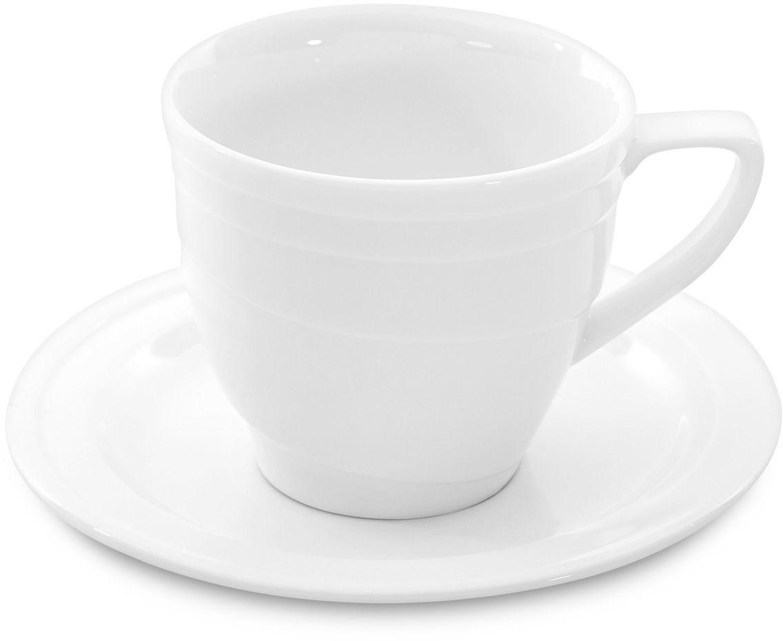 Чашка для кофе BergHOFF Hotel, с блюдцем, 180 мл, 2 предмета1690346