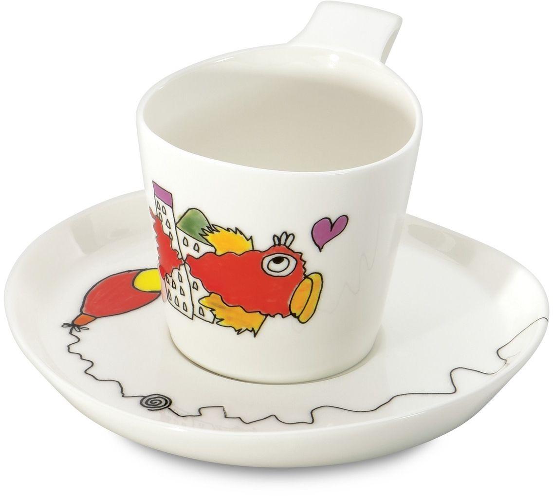 Набор чашек для чая BergHOFF Eclipse, с блюдцем, 240 мл, 2 шт3705007
