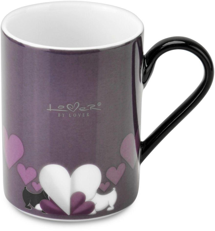 Набор кружек BergHOFF Lover by Lover, цвет: фиолетовый, 300 мл, 2 шт3800002