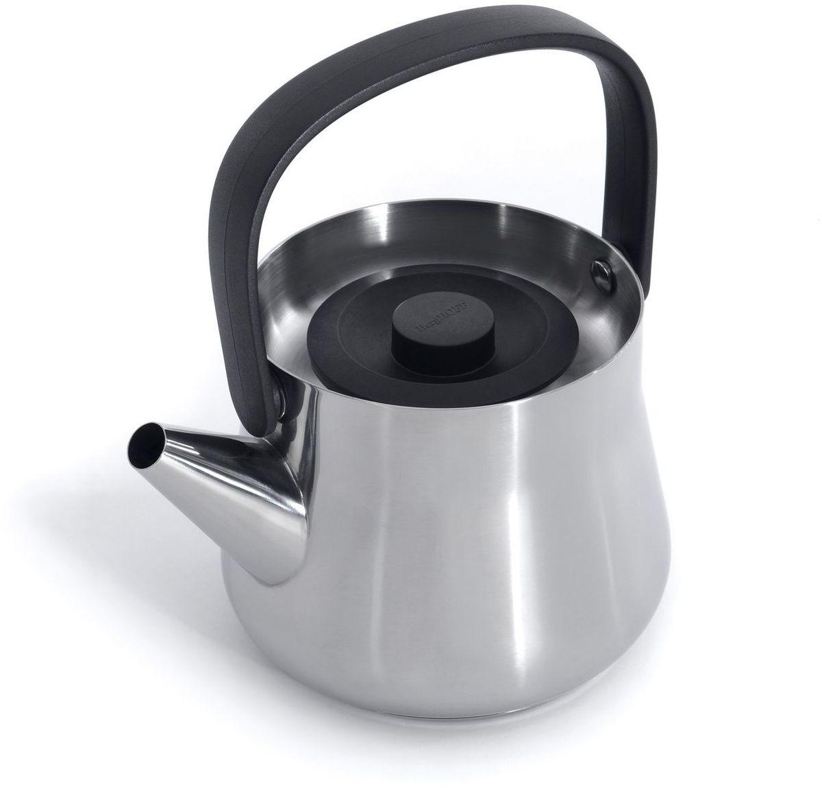 Чайник заварочный BergHOFF Ron, с ситечком, цвет: металлик, 1 л3900047