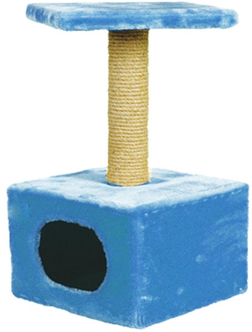 Дом для кошек Зооник, цвет: темно-коричневый, 34 х 34 х 60 см2201-4Дом для кошек Зооник изготовлен из высококачественного искусственного меха. Просторный домик подойдет для котят и для взрослых кошек. Над основным местом отдыха находится дополнительная площадка, на которой ваш любимец сможет полежать свесив лапки. Также предусмотрена когтеточка из комбинированной веревки (пенька/сизаль). Домики ТМ Зооник отличает высокое российское качество при доступной цене. Цвет коричневый.