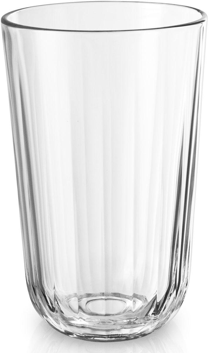 Стаканы Eva Solo, граненые, 4 х 430 мл. 567435567435Большие граненые стаканы объемом 400 мл прекрасно подойдут для подачи любимых напитков или сливочных десертов. Стаканы имеют простой лаконичный дизайн, который будет удачно сочетаться с другими элементами посуды. Стаканы выполнены и выдувного стекла, благодаря чему являются более прочными и жаростойкими (выдерживают температуру до 130°), чем изделия из прессованного стекла. Стаканы подходят для посудомоечных машин со специальной программой для стекла.