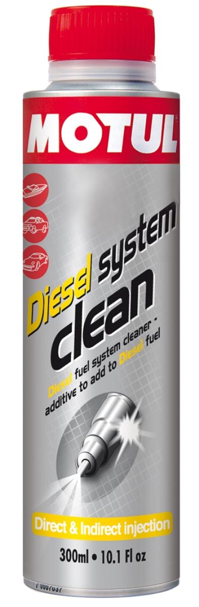 Промывка Motul Diesel System Clean Auto, 300 мл. 104880104880Очиститель топливной системы, присадка в дизельное топливо Motul Diesel System Clean разработано для использования в дизельных двигателях, атмосферных или с турбонаддувом, с каталитическим нейтрализатором и без. Motul Diesel System Clean эффективно очищает загрязнения и отложения, образующиеся в топливной системе: - конденсат в топливной системе; - отложения в насосе; - засорение форсунок; - загрязнения камеры сгорания и выпускных клапанов. Motul Diesel System Clean обеспечивает смазку поверхностей во время очистки и предотвращает повторное отложение удаленных частиц загрязнения.