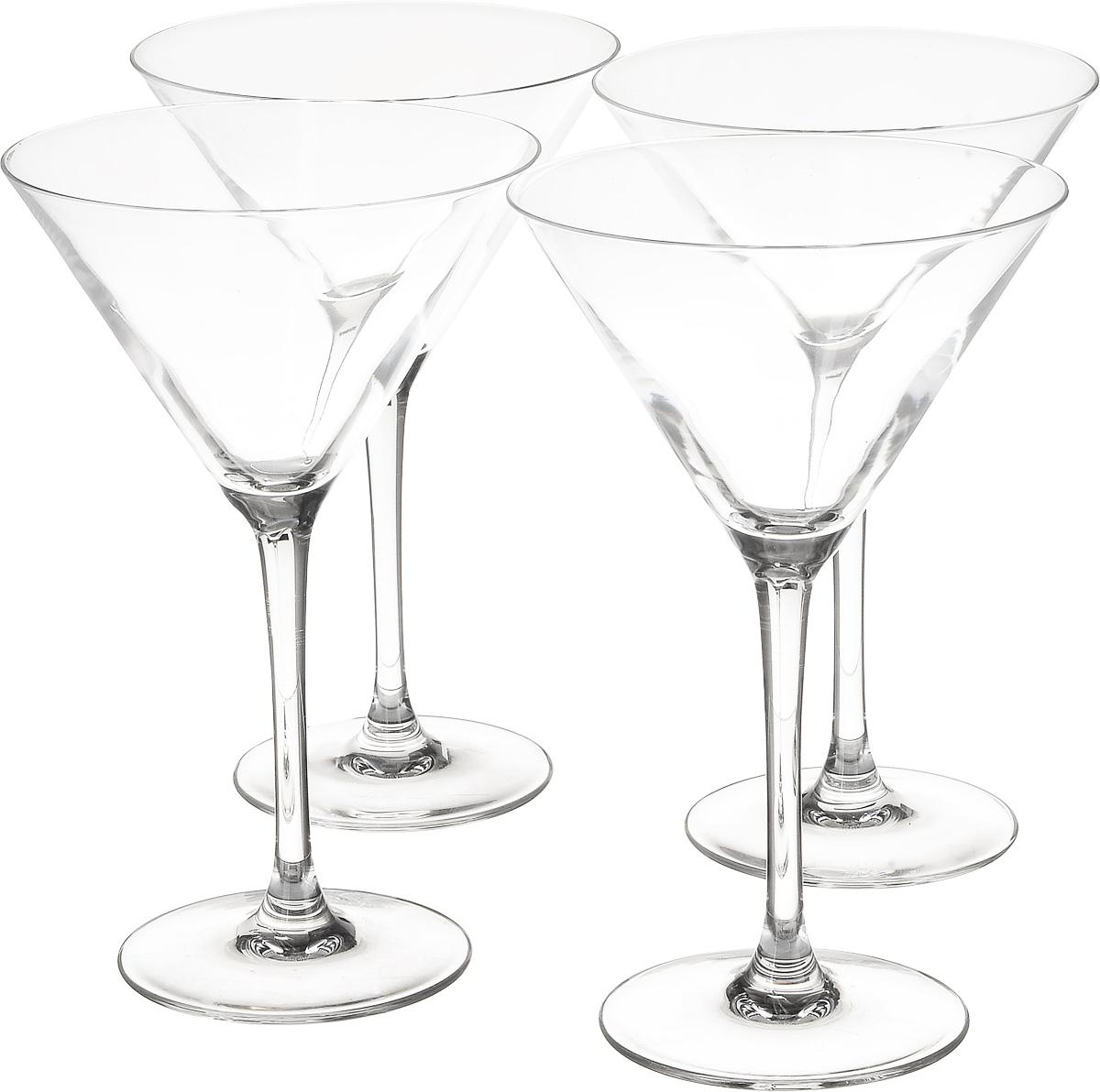Набор бокалов для коктейля Luminarc World Cocktail, 300 мл, 4 штE9328Набор Luminarc World Cocktail, выполненный из высококачественного стекла, состоит из 4 бокалов на тонкой ножке. Бокалы предназначены для подачи коктейлей. Допускается мытье в посудомоечной машине. Стекло выдерживает резкий перепад температур до 135°С. Диаметр бокала (по верхнему краю): 12 см. Высота бокала: 19 см.