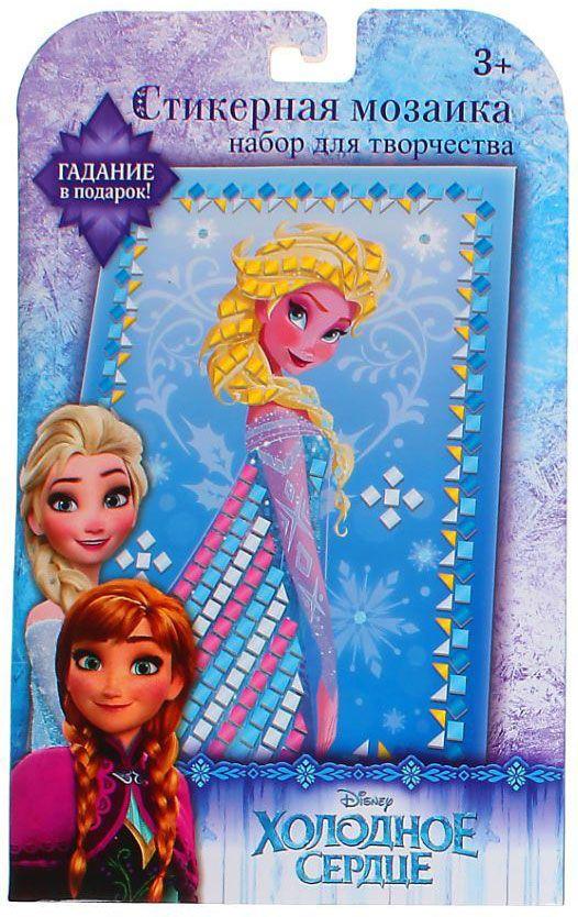 Disney Мозаика стикерная Холодное сердце с карточкой для гадания 1162067