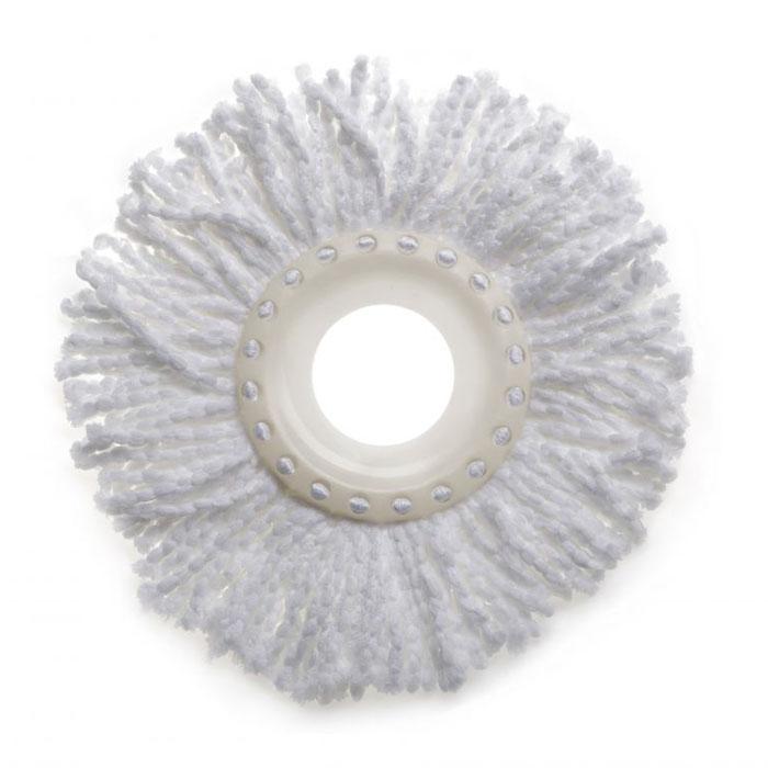 Сменная насадка для швабры TATAY Twister Compact21587L3Сменная насадка для комплекта для мытья полов TATAY. Предназначена для мытья полов любых видов. Можно ситрать в стиральной машине при температуре 60гадусов. Материал 100% микрофибра.