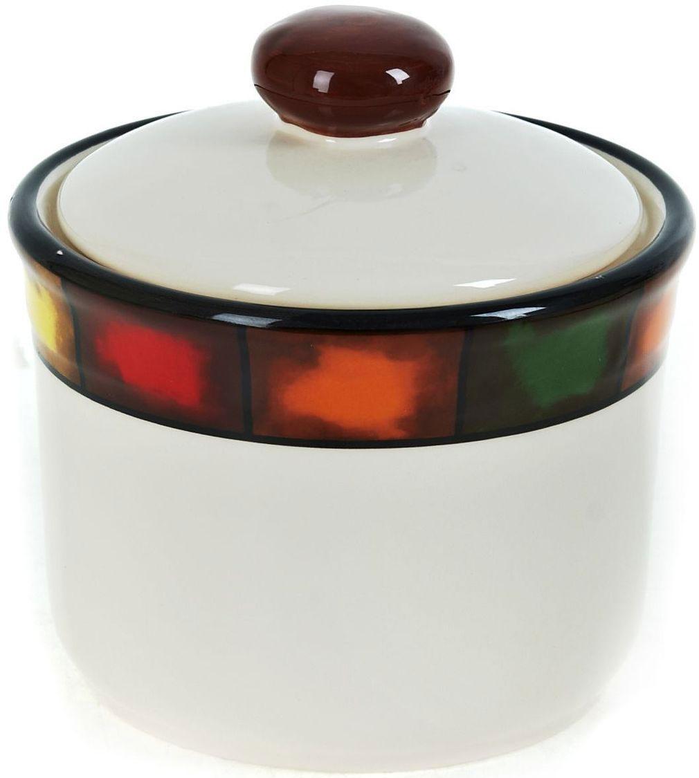Банка для сыпучих продуктов ENS Group Мармелад, 700 мл0050004Банка для сыпучих продуктов Мармелад изготовлена из прочной керамики, закрывается крышкой. Банка прекрасно подойдет для хранения различных сыпучих продуктов: чая, кофе, сахара, круп и многого другого. Изящная емкость не только поможет хранить разнообразные сыпучие продукты, но и стильно дополнит интерьер кухни.