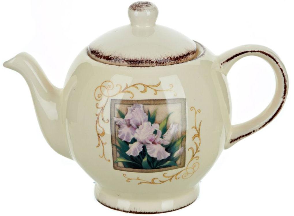 Чайник ENS Group Розовый ирис, 1,26 л0280010Заварочный чайник Розовый ирис изготовлен из высококачественной керамики. Изделие прекрасно подходит для заваривания вкусного и ароматного чая, а также травяных настоев. Отверстия в основании носика препятствуют попаданию чаинок в чашку. Яркий дизайн сделает чайник настоящим украшением стола.