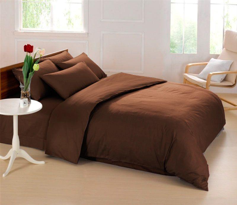Комплект белья Sleep iX Perfection, 1,5-спальный, наволочки 50х70, 70х70, цвет: темно-коричневый. pva21534610503Комплект белья Sleep iX Perfection выполнен из микрофреша (100% микрофибра). Микрофреш - это легкая, нежная и неприхотливая в уходе ткань.Комплект белья Sleep iX Perfection станет прекрасным подарком для родных и близких, отлично впишется в любой интерьер спальни.Размер пододеяльника: 150 х 220 см.Тип застежки на пододеяльнике: молния (100 см).Размер простыни: 160 х 220 см.Размер наволочек: 50 х 70 см (1 шт) и 70 х 70 см (1 шт).
