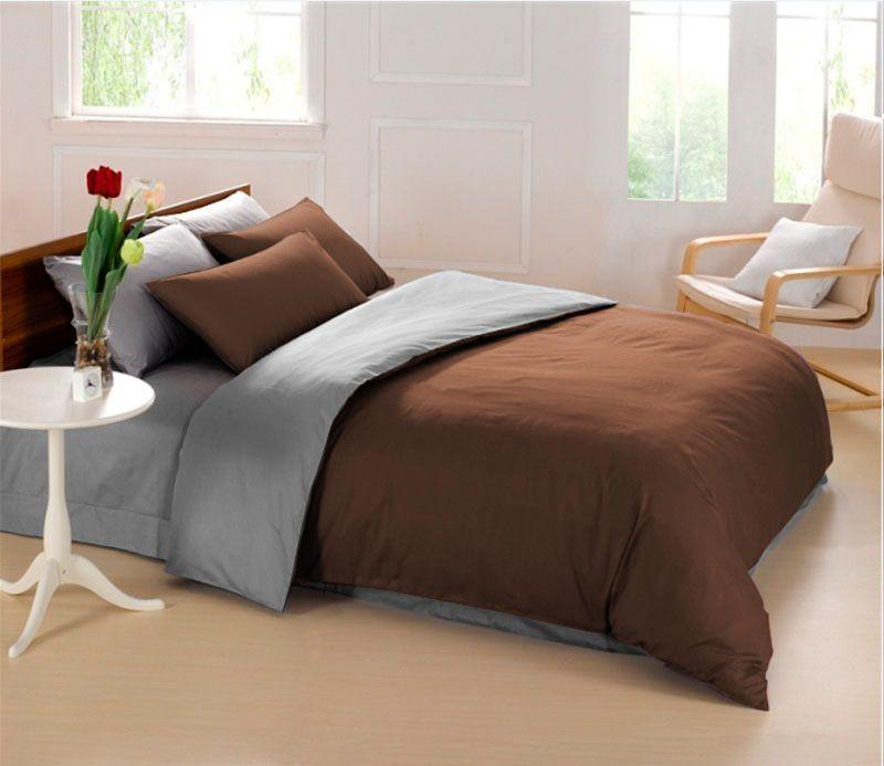 Постельное белье Sleep iX Perfection, евро, цвет: темно-коричневый, серыйpva215409Известно, что цвет напрямую воздействует на психологическое и физическое состояние человека. Специально для наших покупателей мы внесли описание воздействия каждого цвета в комплекты постельного белья Perfection. Коричневый - спокойный и сдержанный цвет. Вызывает ощущение тепла, способствует созданию спокойного мягкого настроения. Это цвет надежности, прочности, здравого смысла. Серый – нейтральный цвет. Расслабляет, помогает успокоиться и способствует здоровому сну. Усиливает воздействие соседствующих цветов. Производитель: Sleep iX Материал: Микрофреш (100 г/м2) Состав материала: 100% микрофибра Размер: Двуспальное (евро) Размер пододеяльника: 200х220 см Тип застежки на пододеяльнике: Молния (100 см) Размер простыни: 220х240 (обычная) Размер наволочек: 50х70 и 70х70 (по 2 шт) Тип застежки на наволочках: Клапан (20 см) Упаковка комплекта: Подарочная Коробка Cтрана производства: Китай Расположение цветов на...