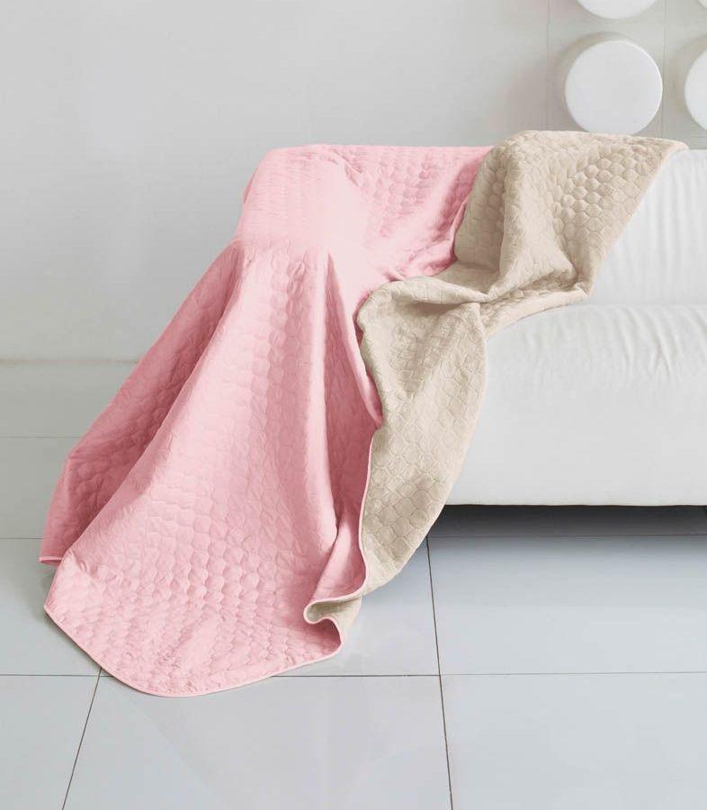 Комплект для спальни Sleep iX Multi Set, 2-спальный, цвет: розовый, молочно-серый, 6 предметов. pva22159310503Комплект для спальни Sleep iX Multi Set состоит из покрывала, простыни, 2 наволочек и 2 подушек. Верх многофункционального одеяла-покрывала выполнен из мягкой микрофибры, которая хорошо сохраняет тепло, устойчива к стирке и износу, а низ выполнен изискусственного меха. Этот мех не требует специального ухода, он легко чистится и долгое время сохраняет мягкость и внешний вид. Наволочки, простыня и чехлы подушек выполнены из микрофибры. Комплект для спальни Sleep iX Multi Set - это прекрасный способ придать спальне уют и привнести в интерьер что-то новое.Размер одеяла-покрывала: 180 х 220 см.Размер простыни: 230 х 240 см.Размер наволочек: 50 х 70 см. (2 шт)Размер подушек: 50 х 68 см. (2 шт)Наполнитель: Силиконизированное волокно.