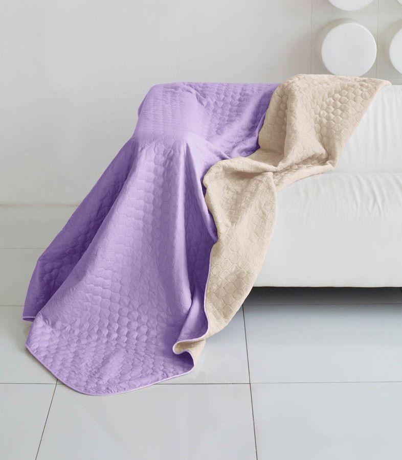 Комплект для спальни Sleep iX Multi Set, евро макси, цвет: фиолетовый, молочно-серый, 6 предметов. pva22164512245Комплект для спальни Sleep iX Multi Set состоит из покрывала, простыни, 2 наволочек и 2 подушек. Верх многофункционального одеяла-покрывала выполнен из мягкой микрофибры, которая хорошо сохраняет тепло, устойчива к стирке и износу, а низ выполнен изискусственного меха. Этот мех не требует специального ухода, он легко чистится и долгое время сохраняет мягкость и внешний вид. Наволочки, простыня и чехлы подушек выполнены из микрофибры. Комплект для спальни Sleep iX Multi Set - это прекрасный способ придать спальне уют и привнести в интерьер что-то новое.Размер одеяла-покрывала: 220 х 240 см.Размер простыни: 230 х 240 см.Размер наволочек: 50 х 70 см. (2 шт)Размер подушек: 50 х 68 см. (2 шт)Наполнитель: Силиконизированное волокно.
