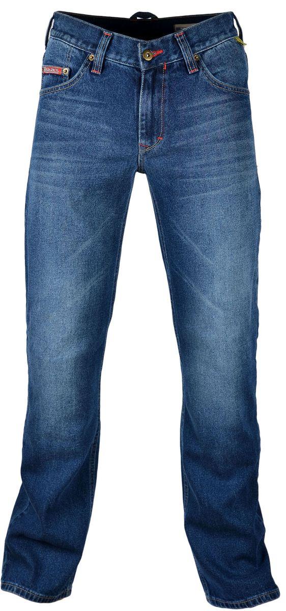 Мотоджинсы Starks Python, цвет: синий. Размер 34GESS-306Мотоджинсы STARKS – безупречное сочетание качества, комфорта и безопасности.Особенностью кроя мотоджинсов STARKS является полностью гражданский вид: отсутствие дополнительных швов, строчек и других элементов, которые обычно присутствуют на джинсах для мотоциклистов. Такой внешний, ничем не выдающий высококачественную защитную мотоэкипировку, позволит вам не беспокоиться о сменной одежде при поездках на работу или в путешествиях. Джинсы для мотоциклов STARKS выполнены из плотной джинсовой ткани и прошиты армированной нитью.Уникальная комбинированная подкладка: Арамидная ткань и ткань COOLMAXАрамид (полный аналог кевлара) используется в части подкладки джинсов STARKS и защищает от трения, порезов и ожогов при падении и скольжении основные зоны нижней части тела : ягодицы, бедренные кости, наружные части ног справа и слева, коленные суставы. COOLMAX используется как часть комбинированной подкладки мотоджинсов в неуязвимых местах. Также из этого материала изготовлены карманы для защитных коленных вставок. Использование этого материала обеспечивает отведение влаги, воздухопроницаемость, охлаждение и полный комфорт для нижней части даже в очень жаркую погоду. При этом материал не вызывает аллергических реакций. Защиту от ударов в области коленей обеспечивают вставки английской компании KNOX, выполненные из новейшего материала MICRO-LOCK и сертифицированные по стандарту безопасности EN1621-2 (CE).Мотоджинсы STARKS изготовлены с запасом длины штанин, что позволяет избежать эффекта коротких штанов при посадке на мотоцикле с согнутым коленом и рассчитаны на рост до 192 см.Регулировка коленных вставок по высоте (до 12 см) и возможность подвернуть/подшить штанины позволяет использовать мото джинсы для мотоциклистов разного роста: от 164 см до 192 см. Джинсы оснащены карманами для защитных вставок тазобедренных суставов (бедер). Вставки для бедер в комплект не входят. Вы можете приобрести их отдельно. Рекомендуем использова