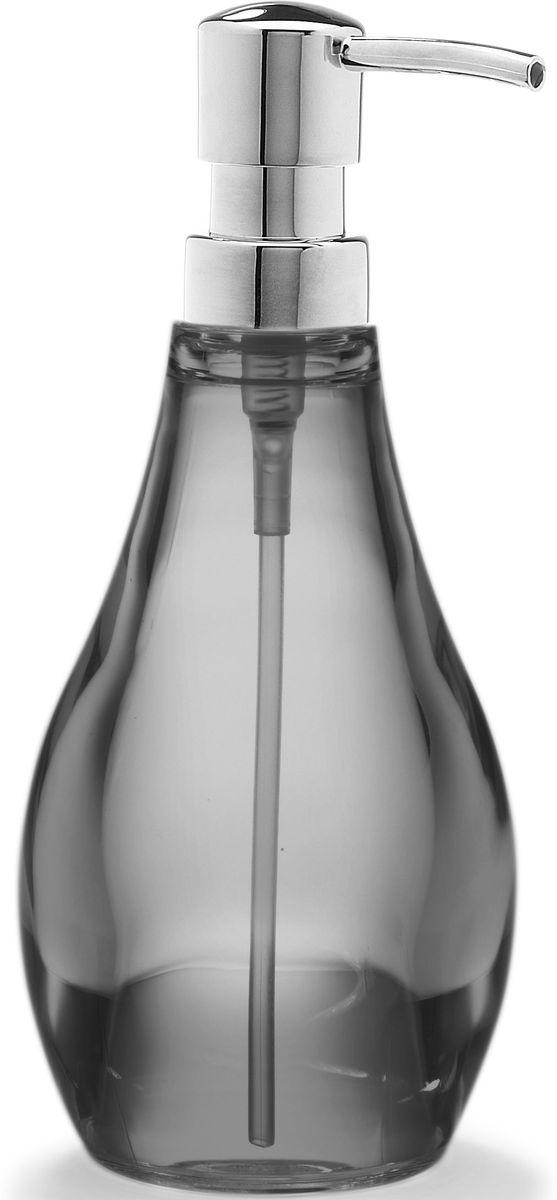 Диспенсер для мыла Umbra Droplet, цвет: дымчатый, 9,5 х 9,5 х 21 см020163-582Серию аксессуаров для ванной Droplet характеризуют плавные линии, прозрачные материалы и мягкие цвета. Благодаря современным технологиям, аксессуары выглядят как стеклянные, но при этом прочные и небъющиеся. Такой элегантный диспенсер для мыла из прозрачного акрила станет достойным украшением раковины в любой ванной комнате. Аксессуар также подойдет для кухни в качестве диспенсера для моющего средства. Дизайн: Michelle Ivankovic